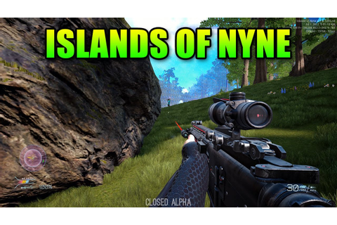 Islands Of Nyne - Finally A True FPS Battle Royale - YouTube