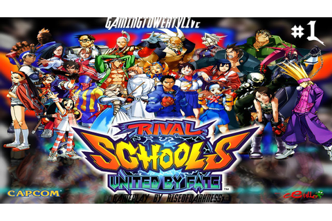 Rival Schools: United By Fate [PS1] - Chapter 1 | Gameplay ...