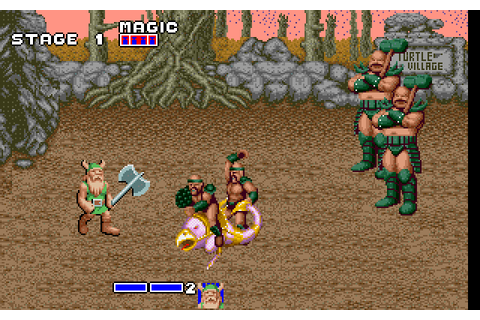 Golden Axe (1991) by Sega for MS-DOS