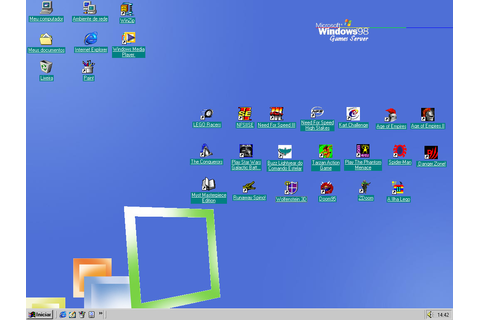 Image Gallery windows 98 games