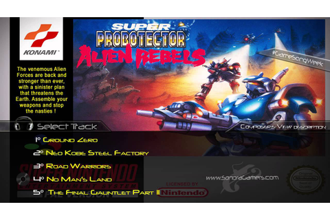 Super Probotector - The Alien Rebels | SNES - OST | Top 5 ...