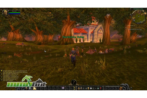 World of Warcraft Gameplay - First Look HD - YouTube