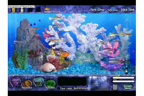 Fish tycoon: My fish and my 499 million coins - YouTube