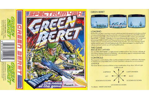 Green Beret | 80'S Top Games