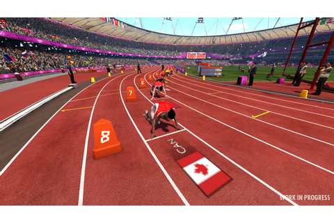 Survol de stade olympique pour Londres 2012 – Game Side Story