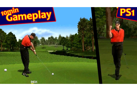 Tiger Woods PGA Tour Golf ... (PS1) 60fps - YouTube
