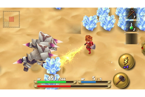 Adventures of Mana now available for smartphones - Gematsu