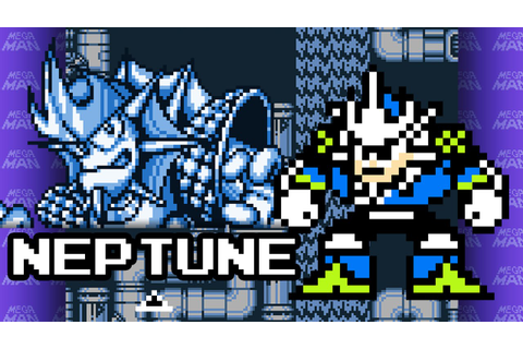 Mega Man V (Game Boy) - Neptune theme in 8-bit - YouTube