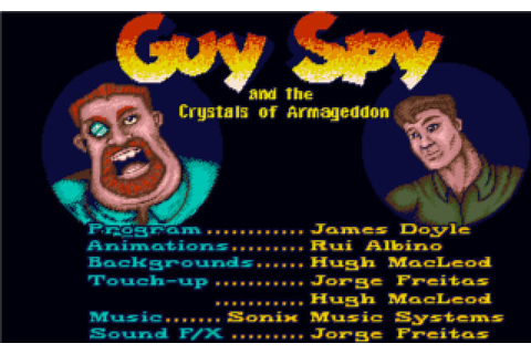 Скриншоты Guy Spy and the Crystals of Armageddon на Old ...