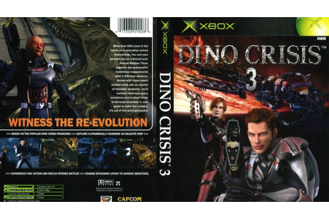 Dino Crisis 3 Game Movie (All Cutscenes) (2003) - YouTube