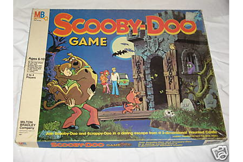 Scooby-Doo game, 1980 | Cool Scooby-Doo 3-D board game ...