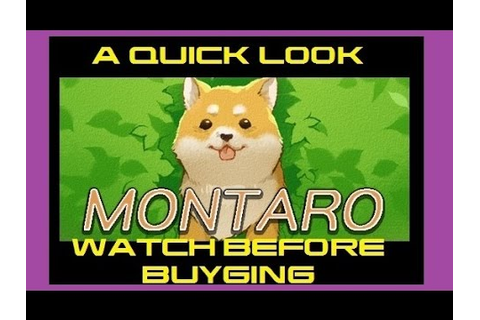 """ Montaro "" game - a quick look at the game [watch before ..."