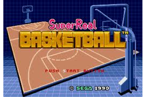 Super Real Basketball | SSega Play Retro Sega Genesis ...