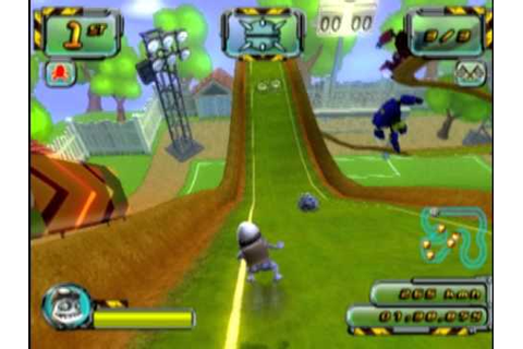 Crazy Frog Racer 2 (PS2 Gameplay) - YouTube
