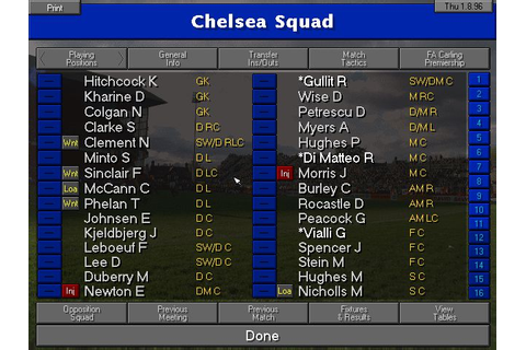Championship Manager 96/97 - Old Games Download