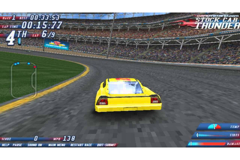 Play Stock Car Thunder Racing Games Online Free - YouTube