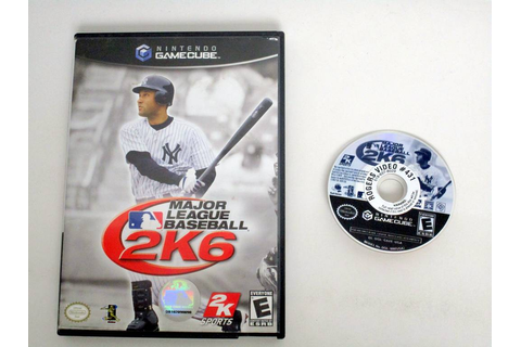 Major League Baseball 2K6 game for Nintendo GameCube | The ...