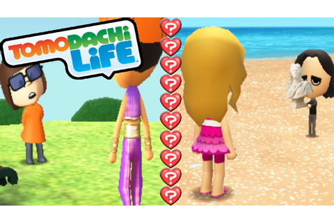 Tomodachi Life 3DS Love Couples, Date Park, Quiz Unlock ...