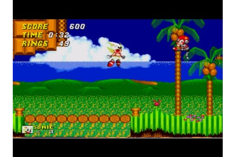 Sonic The Hedgehog 2 - How to activate Super Sonic at ...