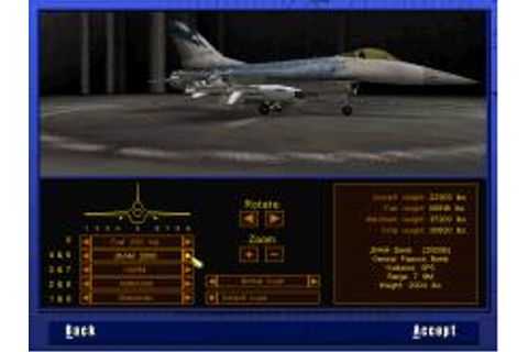 F-16 Multirole Fighter Download (1998 Simulation Game)