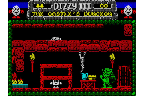 Dizzy III - Fantasy World Dizzy (1989)(Codemasters)(128k) ROM
