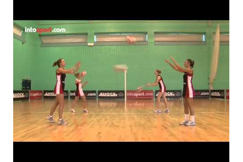 Netball Game: Essential Passing Skills and Drills - YouTube