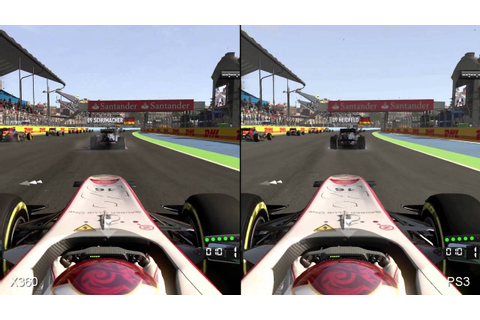 F1 2011 PS3/Xbox 360 Comparison - YouTube