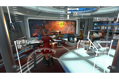 "'Star Trek Bridge Crew' Review: ""Other people"" are VR's ..."