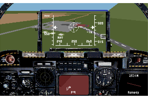 A-10 Tank Killer (1989) by Dynamix MS-DOS game