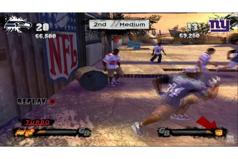 NFL Street 3 PS2 Gameplay HD - YouTube