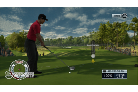 Tiger Woods PGA Tour 11 – PlayStation Move Screenshots ...