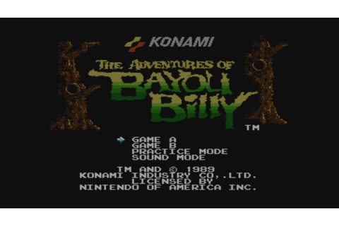 The Adventures of Bayou Billy Wii U Virtual Console ...