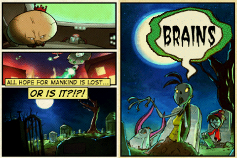 "Teenage Zombies: ""Invasion of the Alien Brain Thingys ..."
