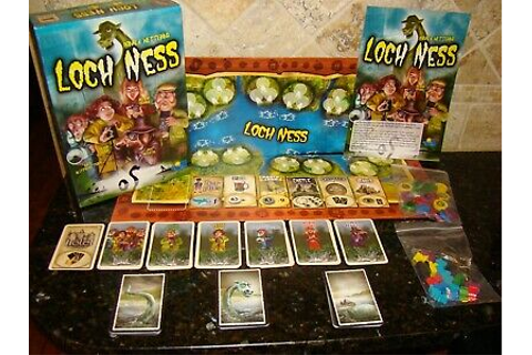 Loch Ness Board Game by Ronald Wettering Rio Grande Games ...