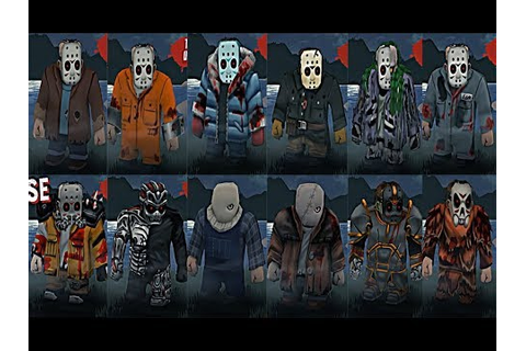 Friday the 13th Killer Puzzle Jason Outfits - YouTube