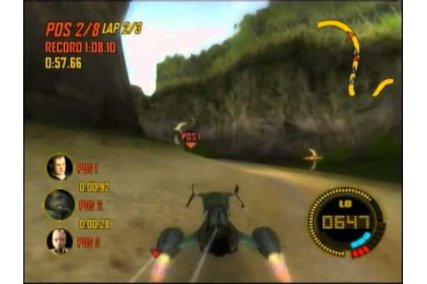 Powerdrome (XBOX): Soomis Forest Race - YouTube