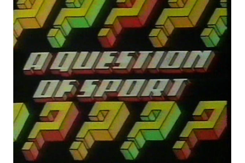 A Question of Sport | Logopedia | FANDOM powered by Wikia