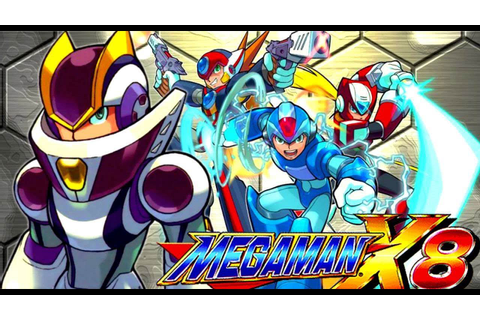 MEGAMAN X8 GAMEPLAY (PC) PART # 1 O INICIO - YouTube
