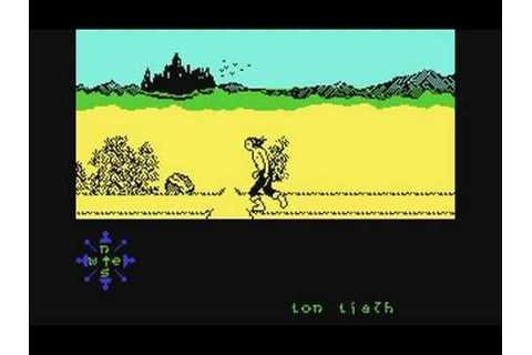 Commodore 64: 'Tir Na Nog' game ending by Gargoyle Games ...