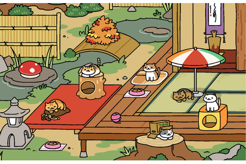 Neko Atsume, the Kitty Collector Game. A Favourite Waste ...