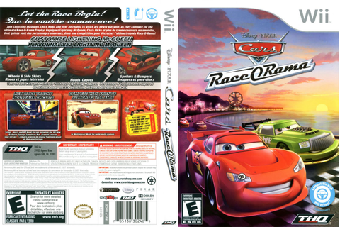 Games Covers: Cars - Race O Rama - Wii