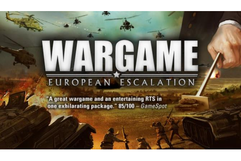 Wargame: European Escalation Free Download « IGGGAMES