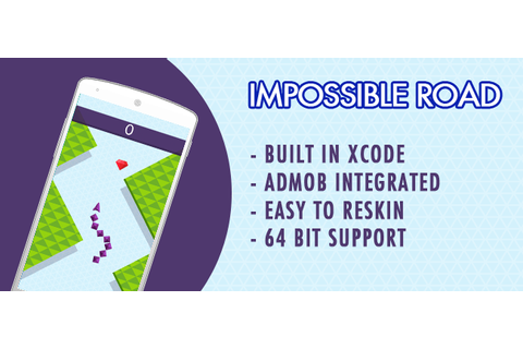 Buy Impossible Road New Trending Game - Top Chart iOS ...
