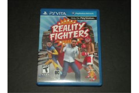 REALITY FIGHTERS ~ PS VITA GAME ~ PLAYSTATION ~ COMPLETE ...