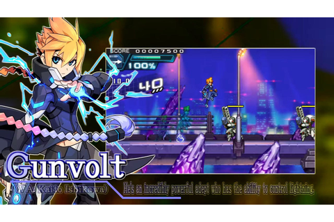 Azure Striker Gunvolt 2 Official Trailer - IGN Video