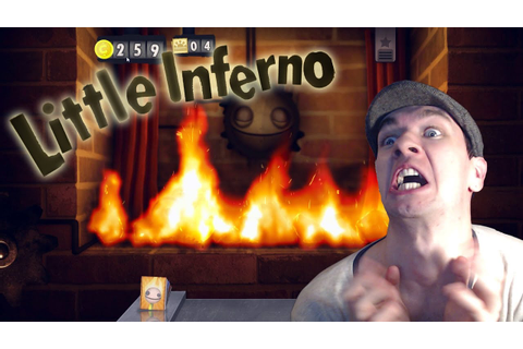A GAME WITHIN A GAME | Little Inferno # 4 - YouTube