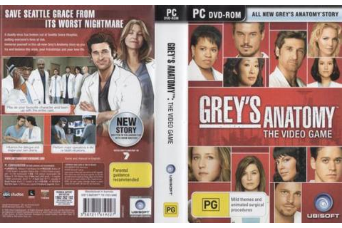 Games - Grey's Anatomy Pc Game was listed for R1.00 on 8 ...