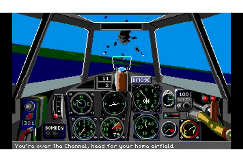 Their Finest Hour: The Battle Of Britain (PC/DOS) 1989 ...