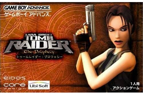 Tomb Raider - The Prophecy ROM - Gameboy Advance (GBA ...