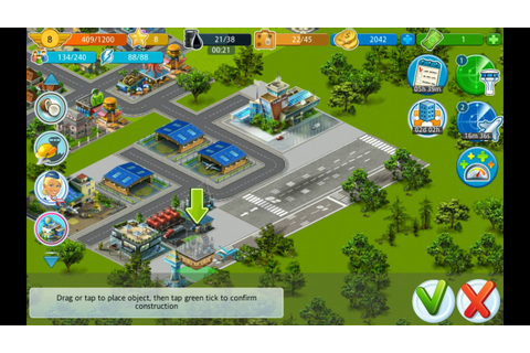Airport City: Playing the game - YouTube
